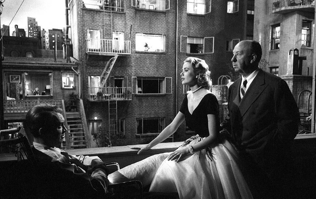 Alfred Hitchcock Grace Kelly ventana indiscreta