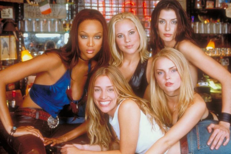 coyote ugly 20 años tyra banks