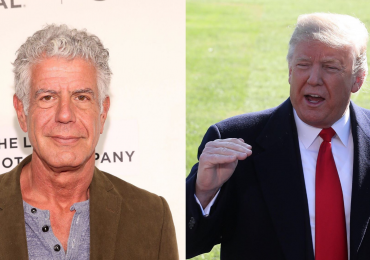 Anthony Bourdain - Dnald Trump