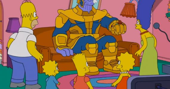 Ni los Simpson ni Jimmy Fallon se salvan de Thanos