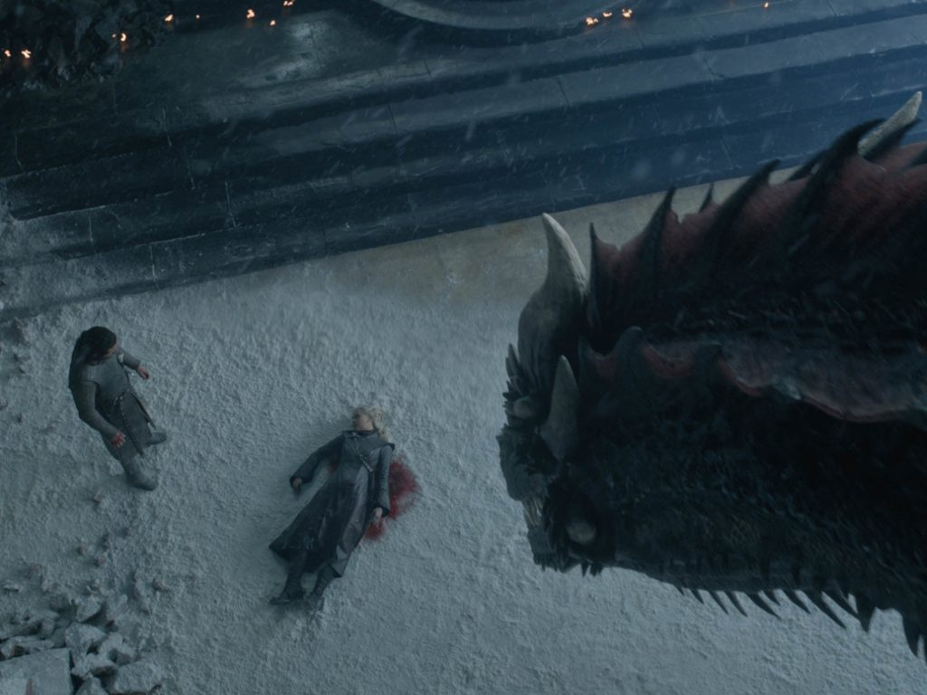 Imágenes del final de Game of Thrones