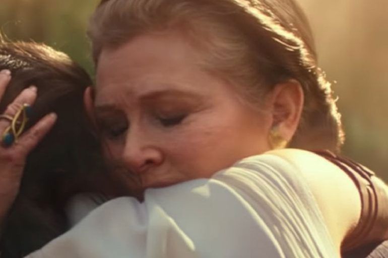 Star Wars: The Rise of Skywalker mostrará a Carrie Fisher con su hija
