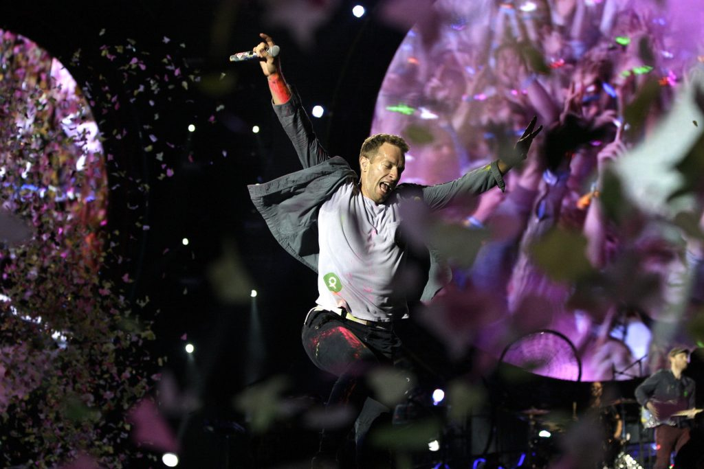 Coldplay Foto Getty Images