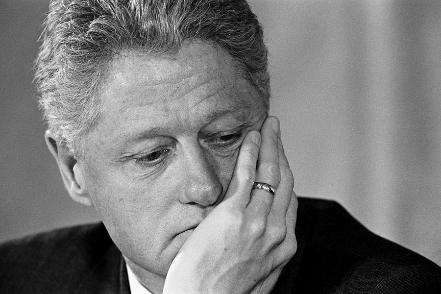 Bill Clinton foto getty images