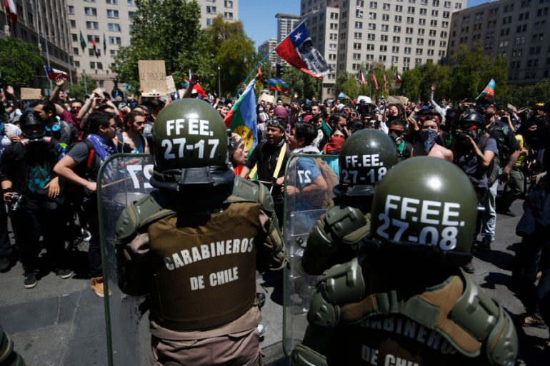 Chile entre protestas - Foto Getty Images