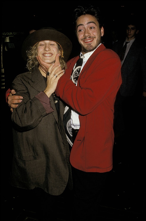 Robert Downey Jr. y Sara Jessica Parker Foto Getty Imager