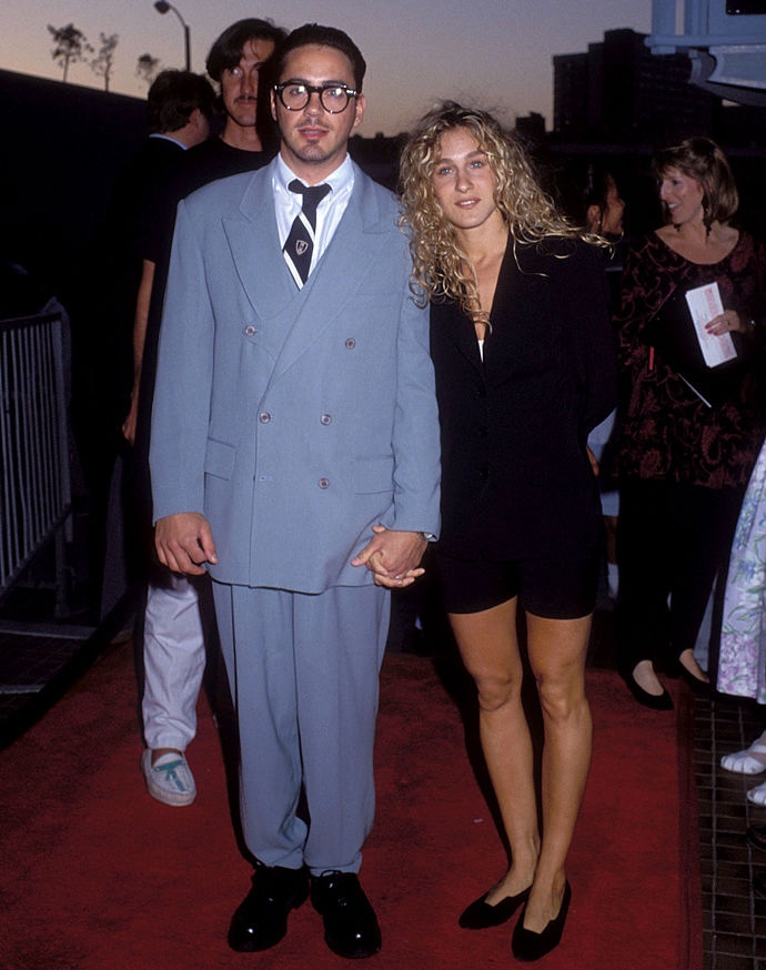 Robert Downey Jr. y Sara Jessica Parker Foto Getty Imager