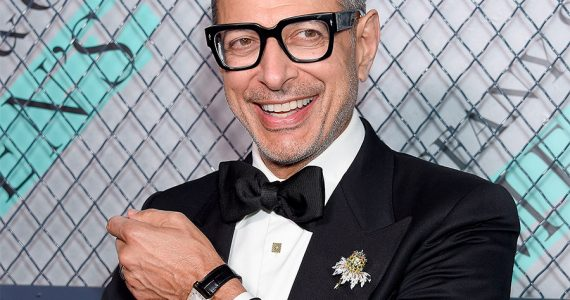 el reloj de jeff goldblum foto getty images