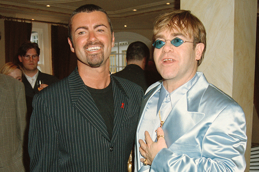 George Michael y Elton John / Foto Getty Images