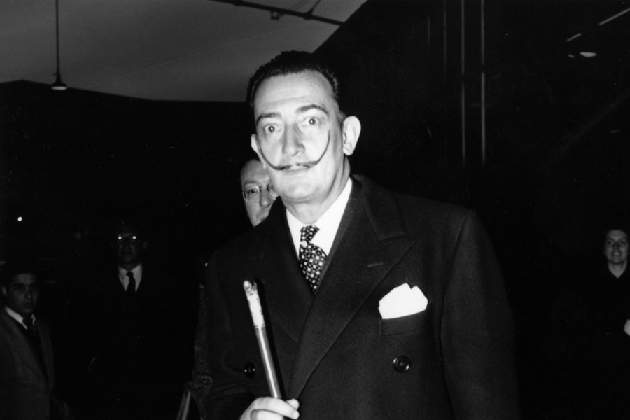 Estilo de bigote Salvador Dalí - GettyImages