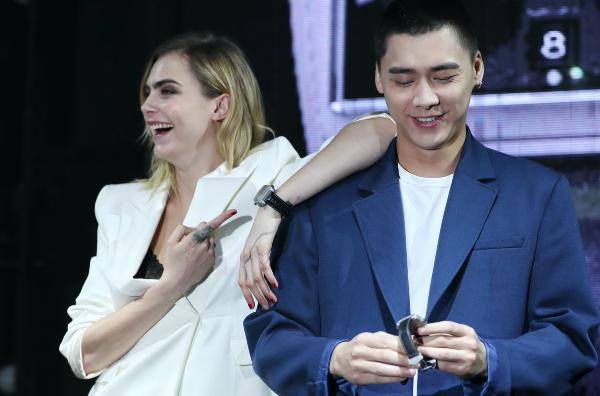 Cara Delevinge en Shanghai Foto Getty Images