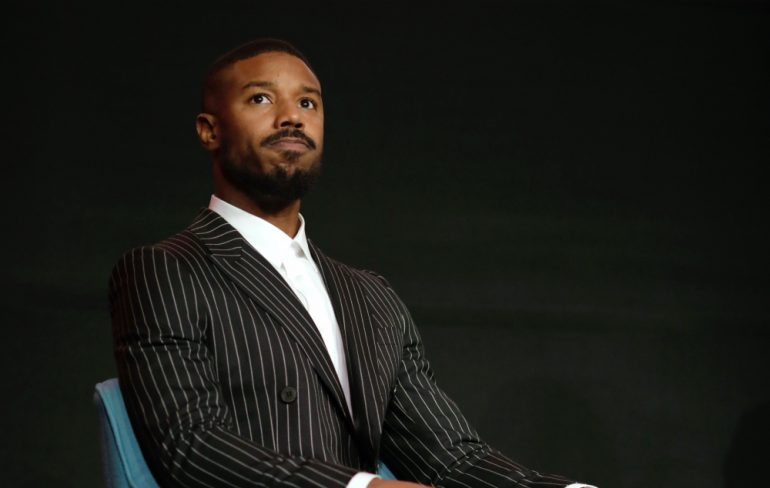 Michael B Jordan Superman Foto Getty Images