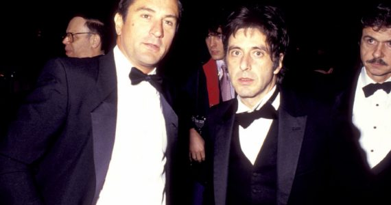 Robert De Niro Al Pacino Getty Images