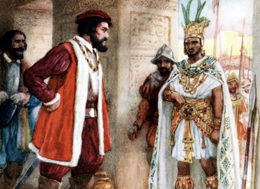 encuentro Moctezuma Hernán Cortés 5 libros – Esquire