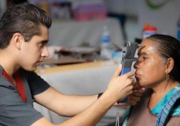 Discapacidad visual Foto: Brigadas Optometría ENES LEON LUIS V