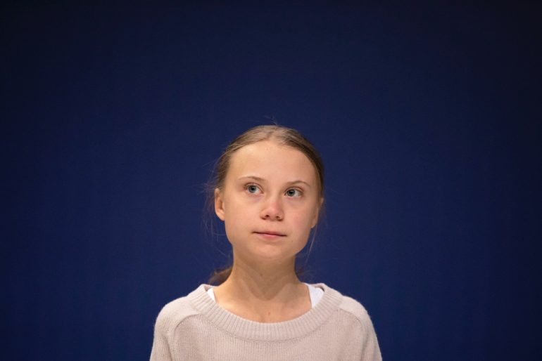 Greta Thunberg persona del año Foto Getty Images