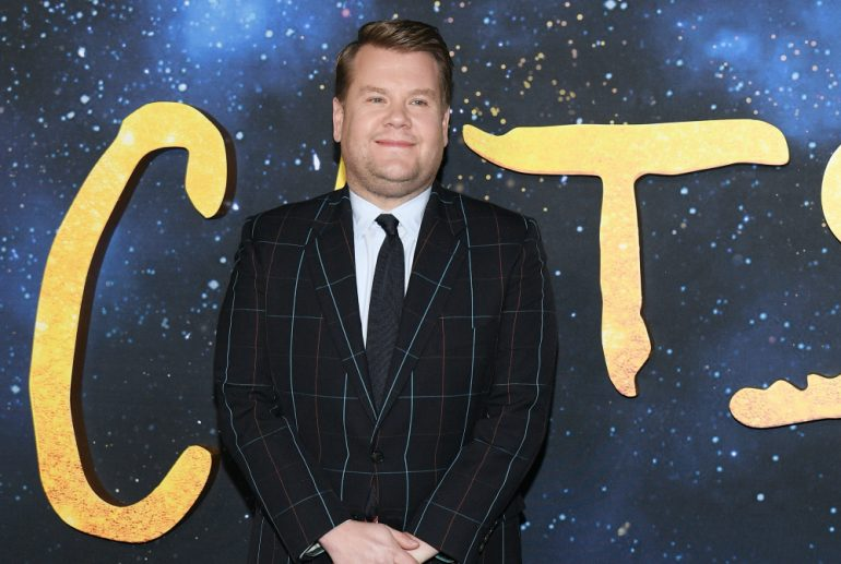 James Corden Cats - Getty Images