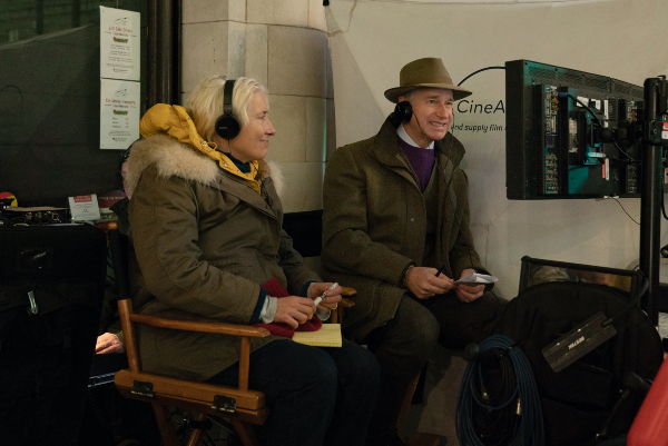 Paul Feig y Emma Thompson Foto Last Christmas