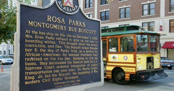 Rosa Parks estatua Foto Getty Images
