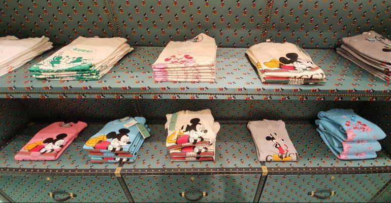 Gucci Pop Up Store X Disney Foto Alex Villatoro