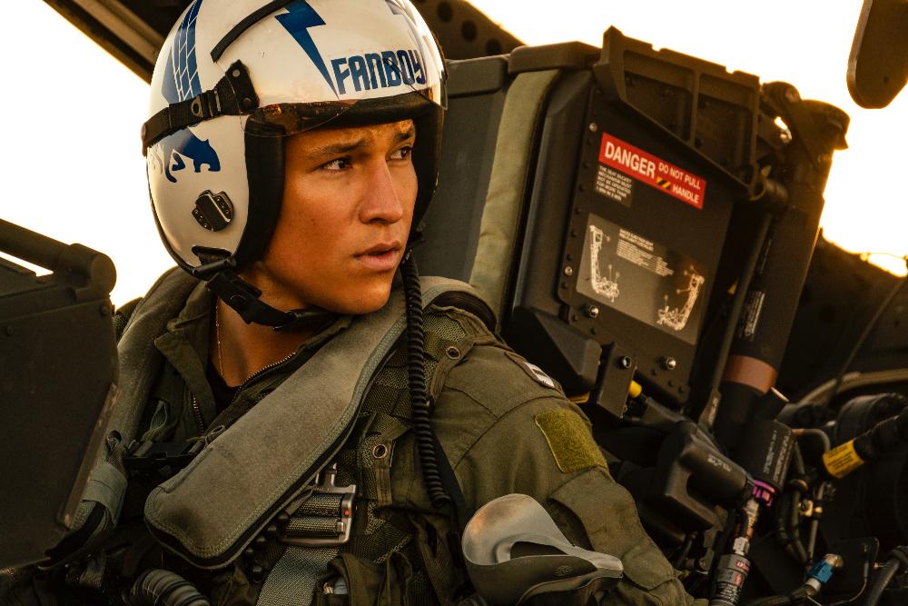 Danny Ramirez protagonistas Top Gun Maverick