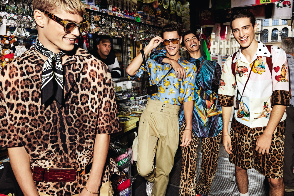 Dolce & Gabbana S_S 2020 campaña publicitaria Foto D&G