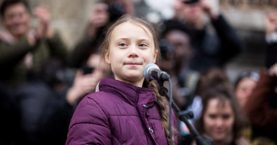 Greta Thunberg 2020 Foto Getty Images
