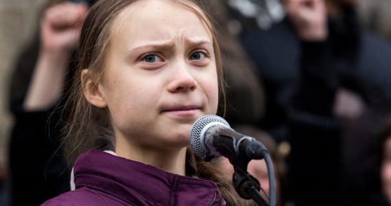 Greta Thunberg Davos Foto Getty Images