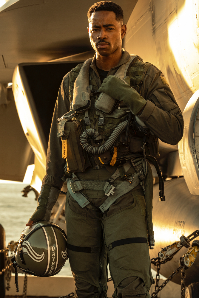 Jay Ellis protagonistas Top Gun Maverick