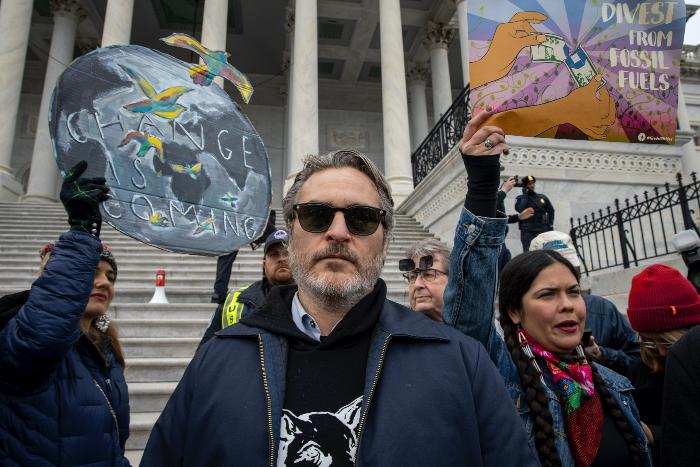 Joaquin Phoenix arrestado Foto Getty Images