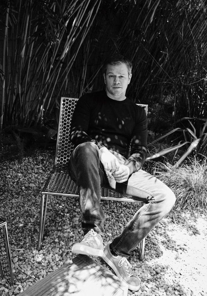 Matt Damon para esquire por Simon Emmett