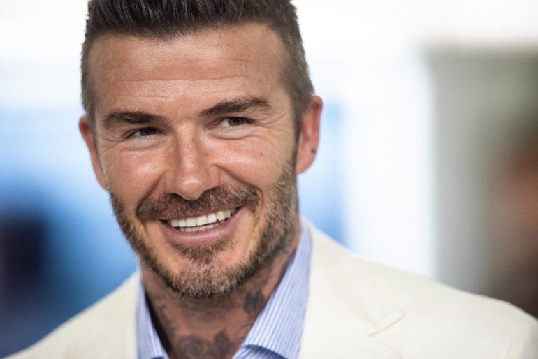 Rutina Grooming David Beckham Foto Getty Images