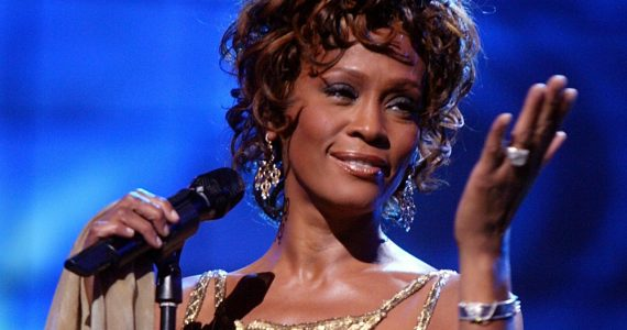Whitney Houston salón fama Getty Images