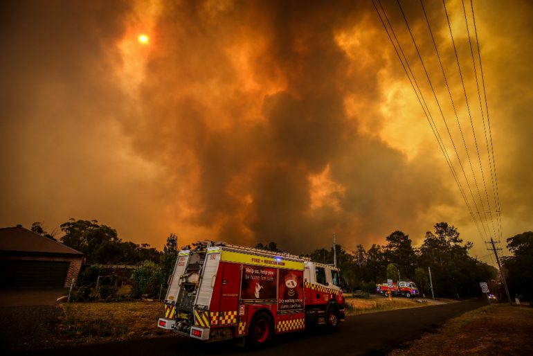 incendios en Australia - Foto Getty Images
