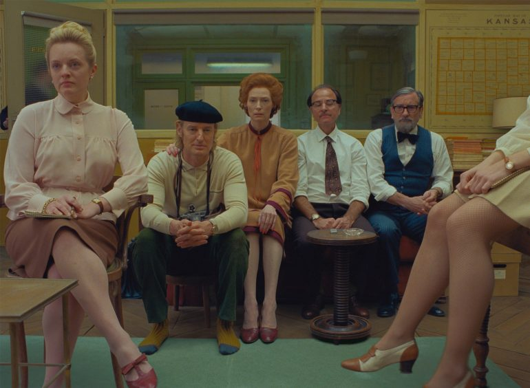 The French Dispatch Wes Anderson Foto Searchlight