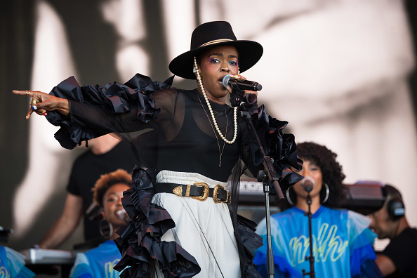 mujeres rap Lauryn Hill - Foto Getty Images