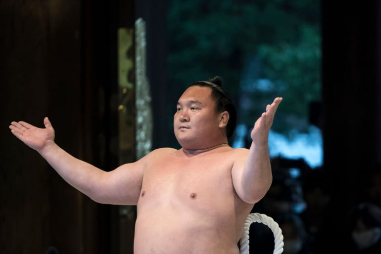 demostración sumo Juegos Olímpicos Tokyo 2020