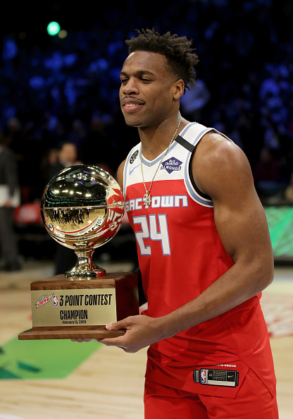 Buddy Hield #24 of the Sacramento Foto Getty Images