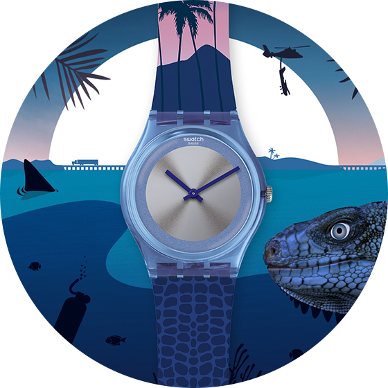 reloj James Bond Foto: Swatch