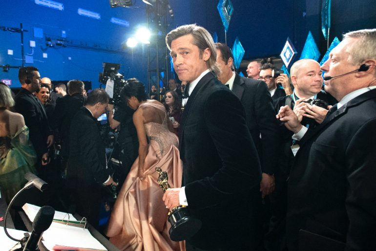Brad Pitt galán Hollywood Foto Getty Images