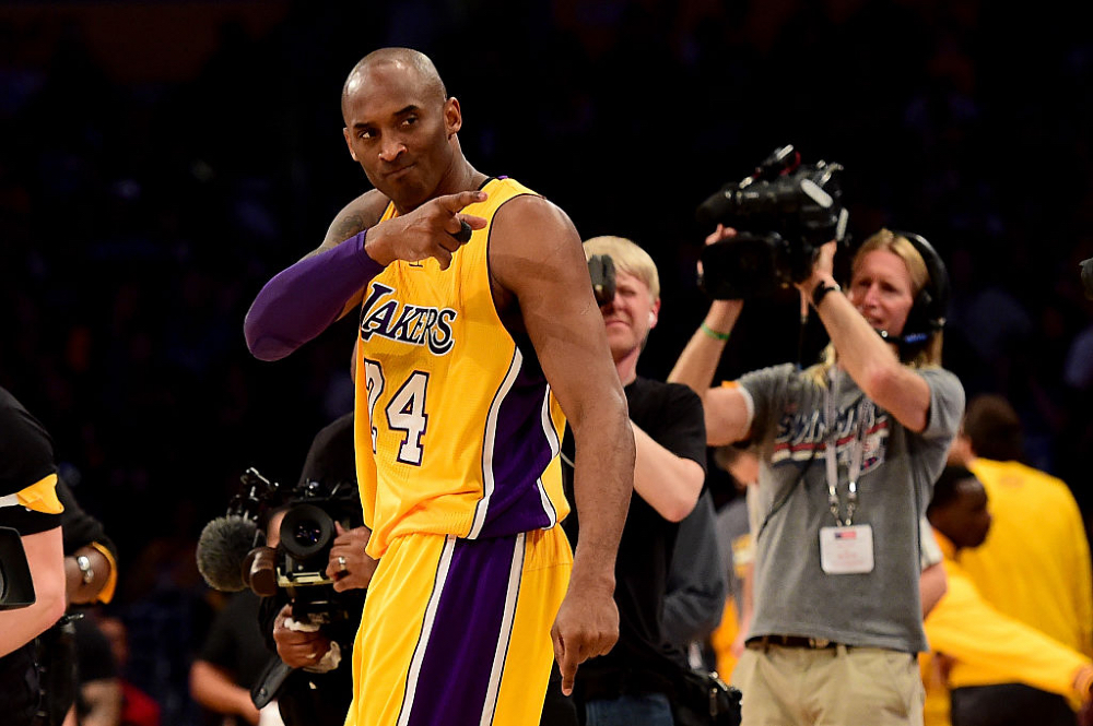trofeo MVP Kobe Bryan Foto Getty Images