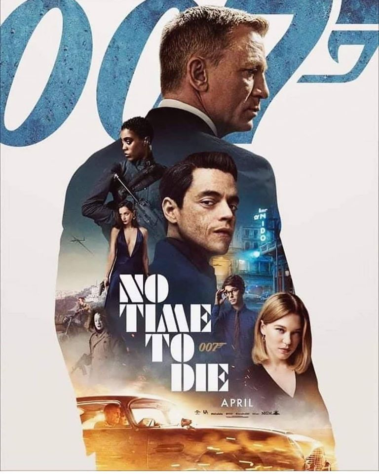 No Time to Die - Cartel MGM