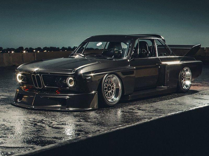 BMW Batimóvil Foto Khyzyl Saleem