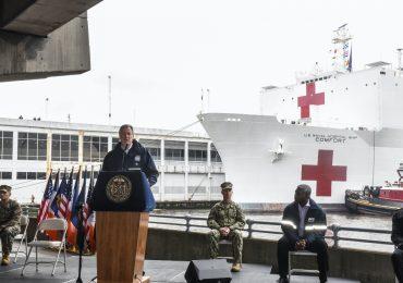 Buque hospital NYC Foto AFP