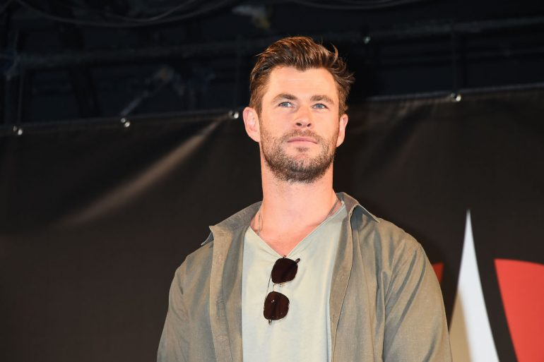entrenamiento Chris Hemsworth gratis Foto Getty Images