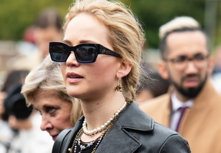 Jennifer Lawrence Cooke Maroney intruso Foto Getty Images