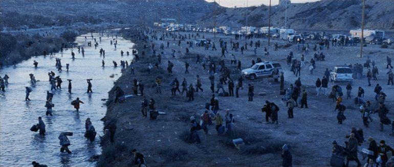 Mexicanos bloquean frontera coronavirus Foto the day after tomorrow