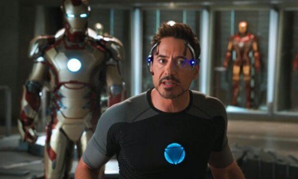 Robert Downey Jr. como Iron Man 3 Foto Disney