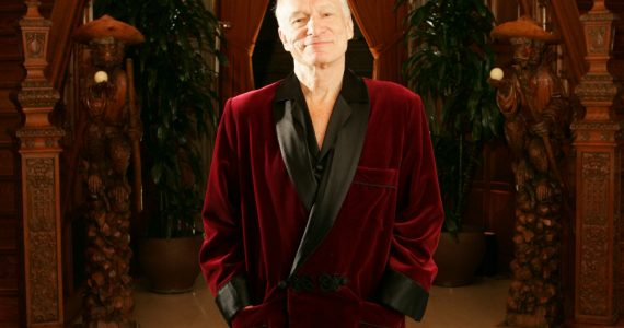 smoking jacket Foto Hugh Hefner Getty Images