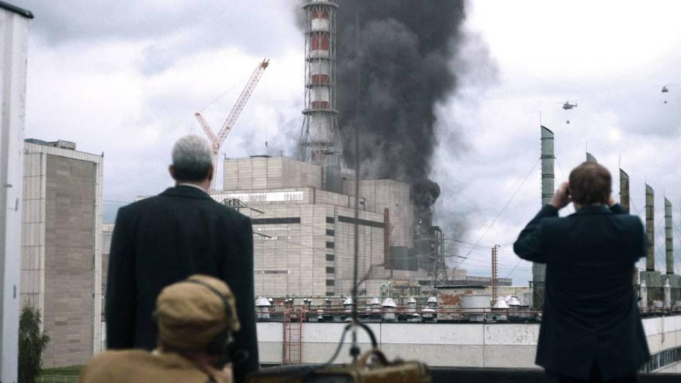 El 26 de abril de 1986 el reactor número 4 de la central de Chernobyl explotó, contaminando tres cuartas partes de Europa. Foto: HBO